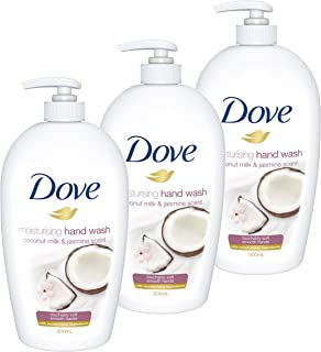 Dove Hand Wash Coconut & Jasmine, 3 x 500ml