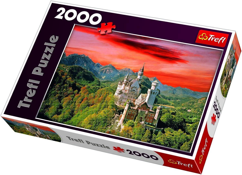 TREFL 270501 2000 Piece Puzzle  Neuschwanstein Castle