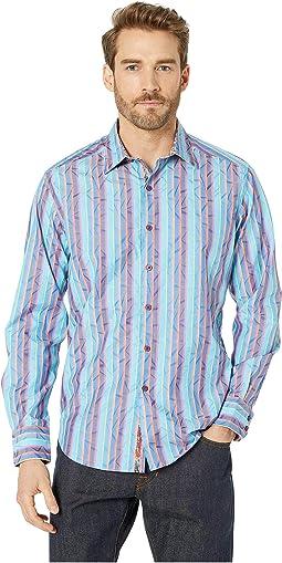 e66c9e05b5ed Robert graham rivero long sleeve woven shirt