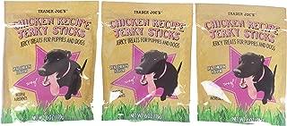 Trader Joe's Chicken Recipe Jerky Sticks 6 Oz Pack of 3