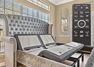 Sven & Son Split King Adjustable Bed Base Frame Platinum (Individual Head Tilt & Lumbar) USB Ports, Zero Gravity, Anti Sno...