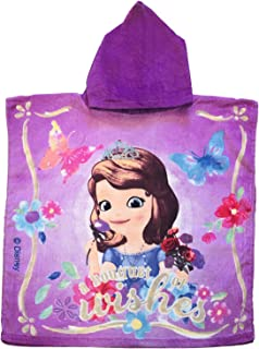 Sophia Disney The First A Bouquet of Wishes Hooded Poncho Styled Towel
