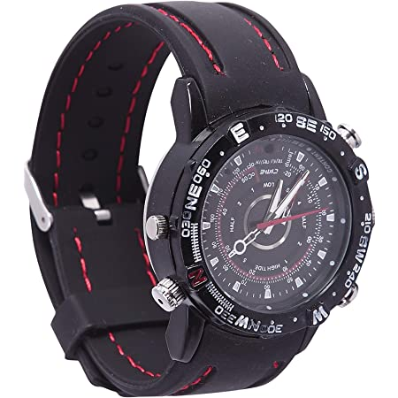 M MHB Wrist Spy Watch Camera Updated Version with Inbuilt 16GB Memory. Hidden Audio/Video Recording.While Recording no Light Flashes.