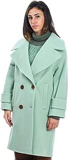 TELA Luxury Fashion Womens 051901019903T001 Light Blue Coat   Fall Winter 19