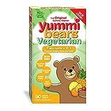Yummi Bears Vegetarian Calcium + Vitamin D3 Gummy Vitamin Supplement for Kids, 90 Gummy BearsYummi Bears Vegetarian Calcium + Vitamin D3 Gumm… by Yummi ...