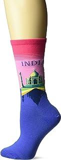 Para mujer Fashion Travel Crew Socks Calcetines de vestir
