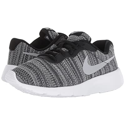 Nike Kids Tanjun (Big Kid) (Black/Wolf Grey/White) Boys Shoes