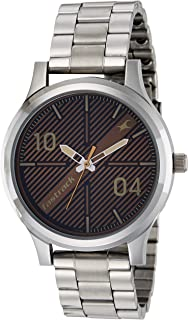 Fastrack Fundamentals Brown Dial Analog Watch for Men