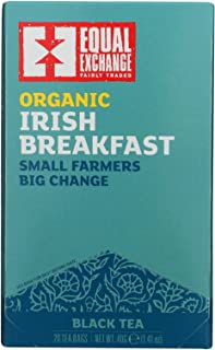 Irish Breakfast Organic 20 Bags (Case of 6)