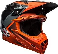 Bell Moto-9 Flex Off-Road Motorcycle Helmet (Gloss/Matte Orange/Charcoal Hound, Medium)