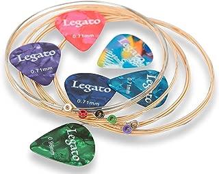Acoustic Guitar Strings Extra Light 10-50 Beginner to Pro Level Nano-Coated 85/15 Bronze (2 Sets) w/ 6 Guitar Picks