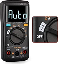 TTR Digital Multimeter 6000 Counts Auto-Ranging TRMS With Always Bright Screen, NCV/Temperature, Unique Automatically Iden...