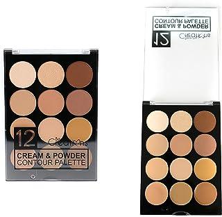 Beauty Creations Cream & Powder Contour Palette