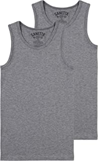 152 cm-158 cm LOREZA para ni/ño Blanco: 6 Unidades Camiseta Interior