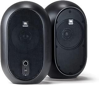 JBL Professional 1 Series, 104 Compact Powered Desktop Reference Monitors (sold as pair), Black (JBL104)