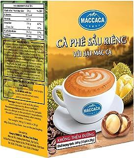 Maccaca Durian Coffee No Sugar, 240 g