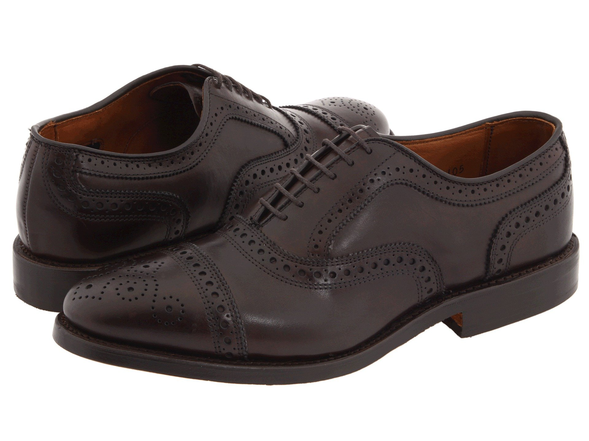 Allen Edmonds Strand in Dark Brown Burnished Calf