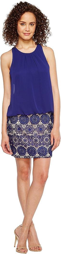 Chiffon and Lace Dress