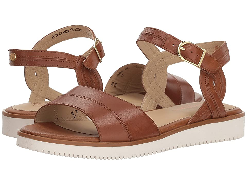 Hush Puppies Briard Quarter Strap (Tan Leather) Women