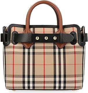 Luxury Fashion | Burberry Womens 8021274 Beige Handbag | Fall Winter 19