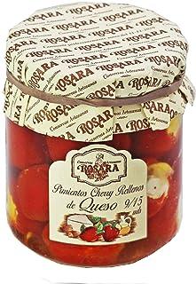 Pimientos Cherrys rellenos de queso