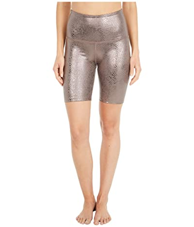 Beyond Yoga Viper High Waisted Biker Shorts (Mocha Viper) Women