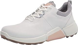 ECCO Women's Biom H4 Golf Shoe, White/Silver/Grey, 3 UK