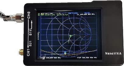 【Upgraded】AURSINC Vector Network Analyzer 50KHz -900MHz HF VHF UHF Antenna Analyzer Measuring S Parameters, Voltage Standing Wave Ratio, Phase, Delay, Smith Chart