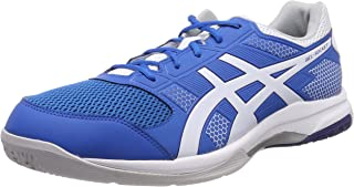 ASICS Gel Rocket 8 Non-Marking Shoes for Badminton, Squash, Table Tennis and Volley Ball