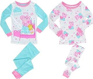 Peppa Pig Girls' Toddler Twinkle Little Star 4 Piece Cotton Set