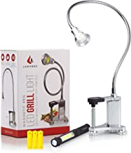 Grill Light for BBQ | Magnetic LED Lamp | Work Bench Accessories Flexible Gooseneck | Sewing Machine Lathes Jet Band Saw | Metal | Adjustable | Gas | Desk | Outdoor Industrial | Weatherproof | Clamp