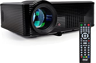"Pyle Updated Video  Projector 5"" – LCD Panel LED Cinema Home Theater with.."