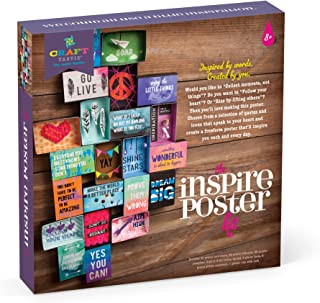 Craft-tastic – Inspire Poster Kit – Design a One-of-a-Kind Freeform Poster