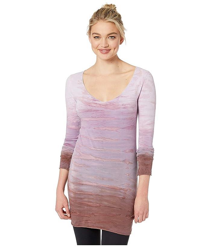 Hard Tail Sexy Long Skinny Tee (Rainbow Horizon 75) Women's T Shirt