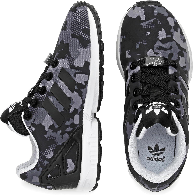 adidas Zx Flux El Camo Noire Gris 31 : Amazon.fr: Chaussures et Sacs