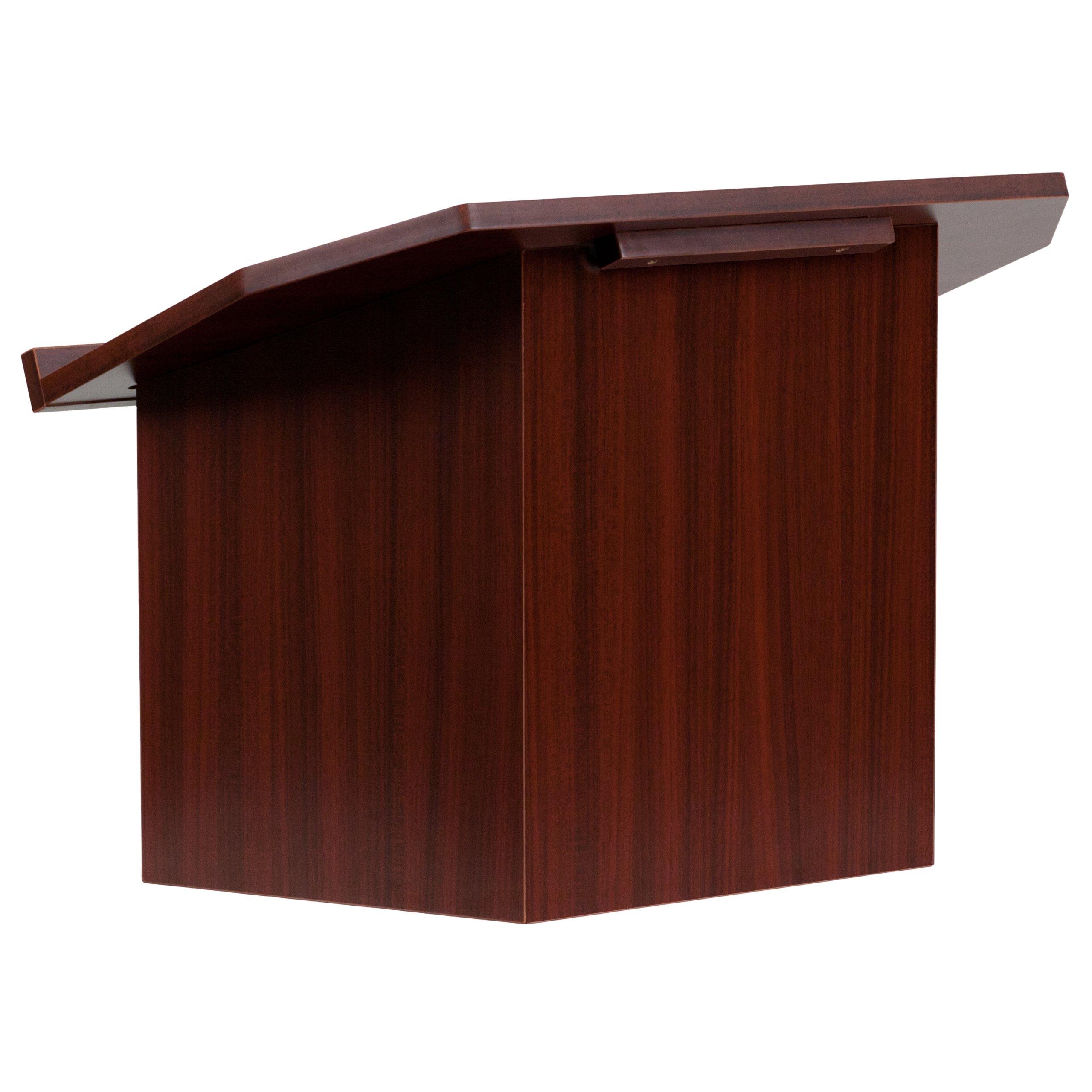 Flash Furniture Foldable Tabletop Mahogany