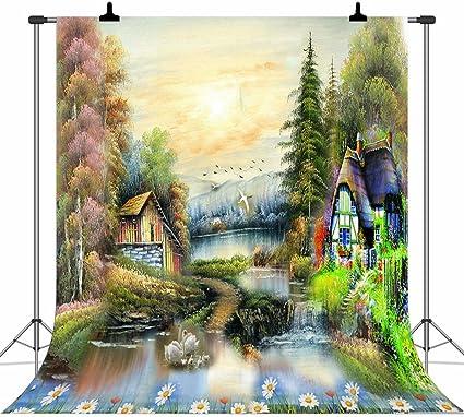 Apotoe 2.1X1.5m Fantasy Fairy Tale Wonderland Gate Photography ...