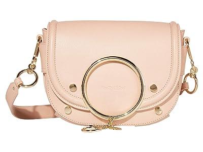 See by Chloe Mara Shoulder Bag (Powder) Handbags