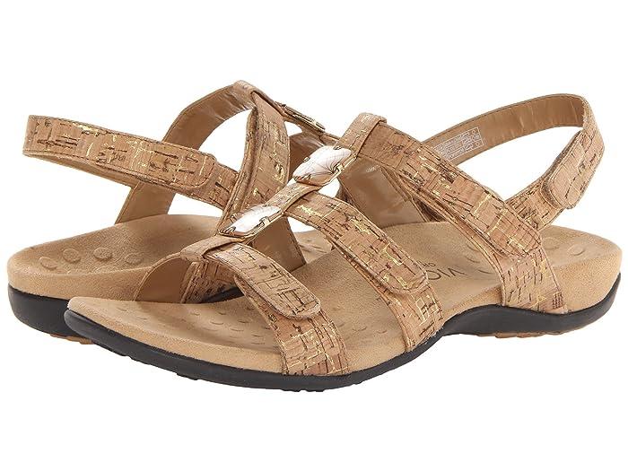 VIONIC  Amber (Gold Cork) Womens Sandals