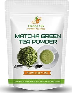 Pure Matcha Tea Powder Matcha Green Tea Powder Ceremonial Grade Premium Matcha Tea Antioxidant Anti-Aging Focus Energy Tea 4oz