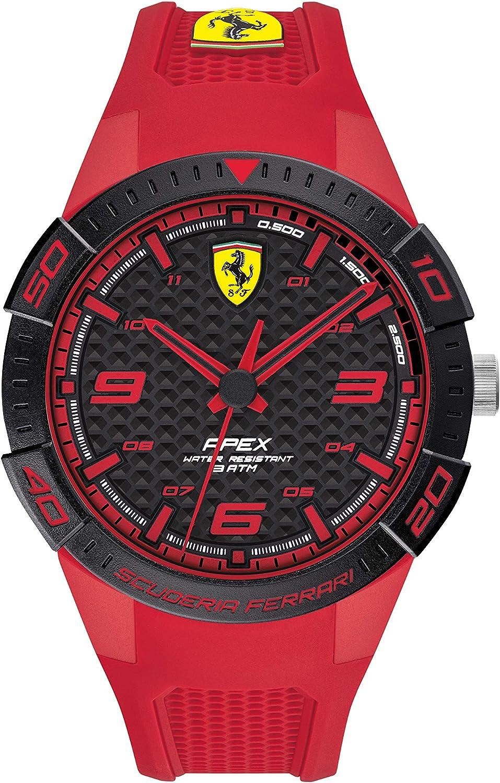 Scuderia Ferrari Reloj para de Cuarzo con Correa en Silicona 830748