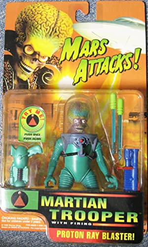 MARS ATTACKS   Martian Trooper figure