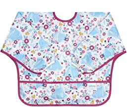 Bumkins Disney Cinderella Sleeved Bib / Baby Bib / Toddler Bib / Smock, Waterproof,..