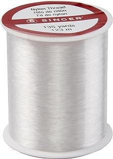 SINGER 00260 Clear Invisible Nylon Thread, 135-Yard