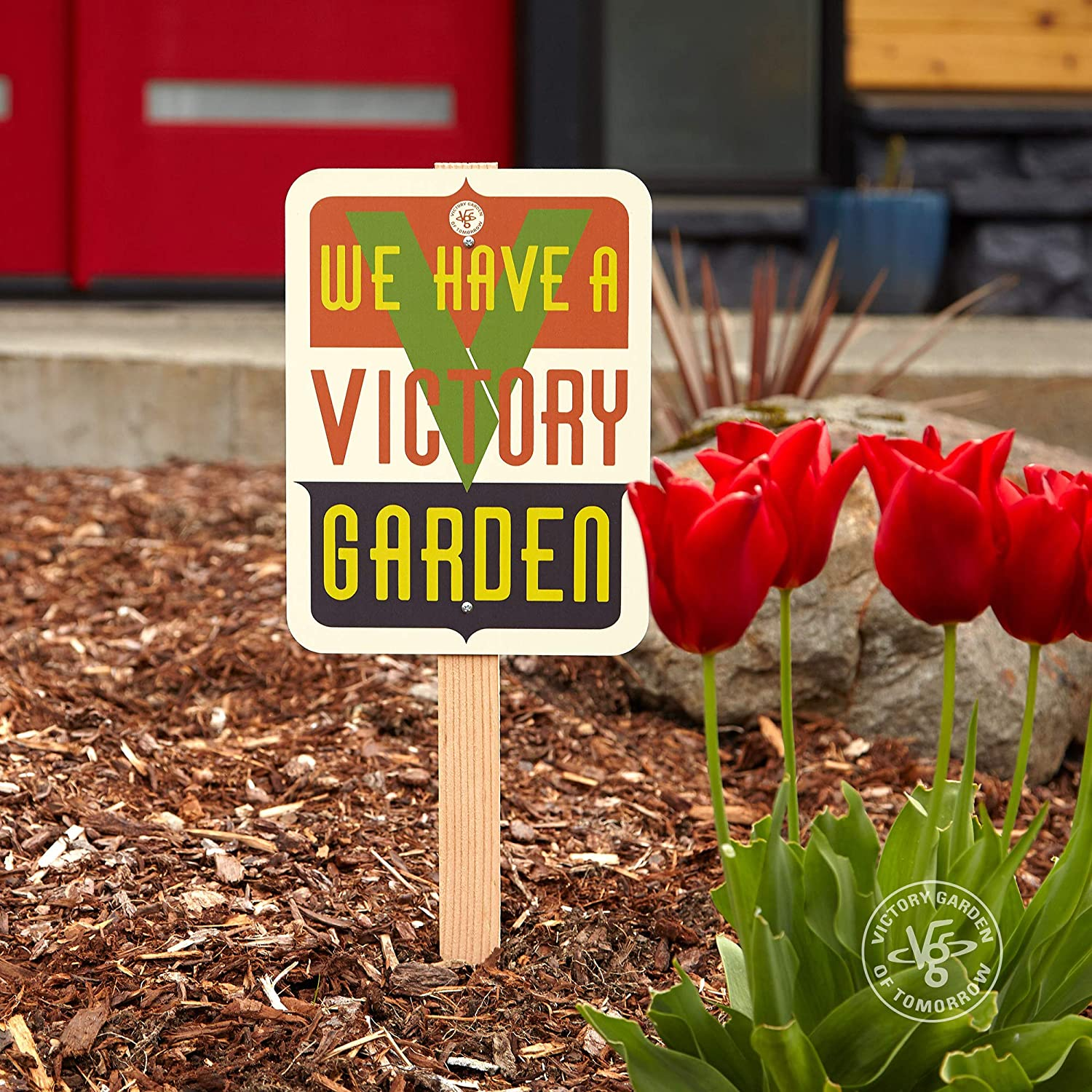 We Have a Manufacturer regenerated product Victory Garden sign - Selling and selling