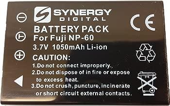 SDNP60 Lithium-Ion Battery - Rechargeable Ultra High Capacity (3.7V 1050 mAh) - Replacement for Fuji NP-60, Pentax D-L12, Kodak KLIC-5000, Samsung SLB-1037 Batteries For Fujifilm FinePix 50I, 601, F401, F601, F602, M603, Pentax Optio 330RS, Optio 430, O