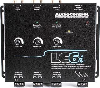 AudioControl LC6i Black AUDIO CONTROL