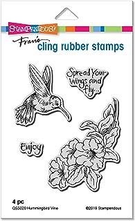 stampendous hummingbird stamp