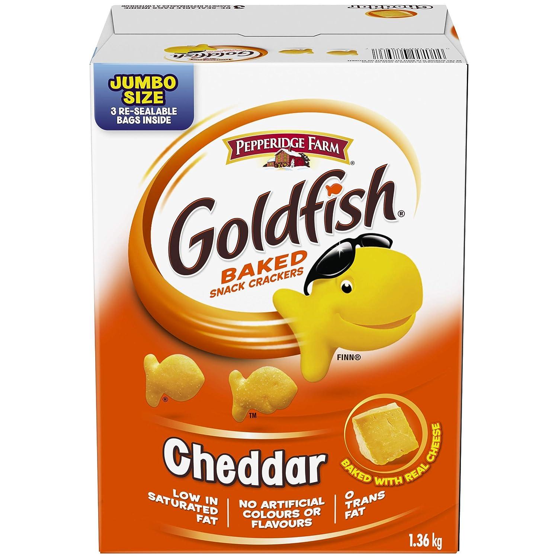 Pepperidge Farm Goldfish Selling rankings Baked Snack Ranking TOP3 Box lb 1.36kg 3 Crackers