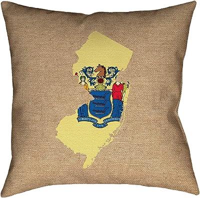 ArtVerse Katelyn Smith 14 x 14 Spun Polyester Alaska Canvas Pillow